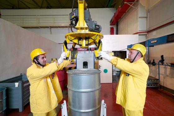 Radioactive waste measurement, Dukovany