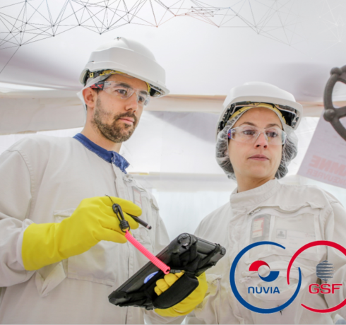 NUVIA and GSF reinforce their industrial partnership with EDF