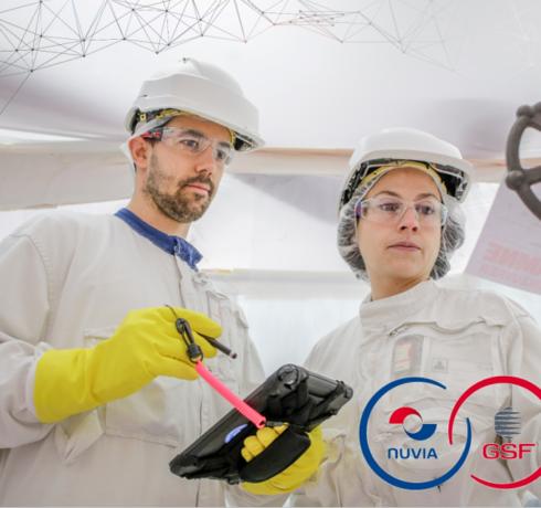 NUVIA et GSF renforcent leur partenariat industriel avec EDF