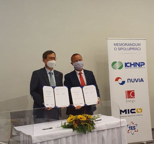 NUVIA CZ has signed an important Memorandum of Understanding with the Korean KHNP