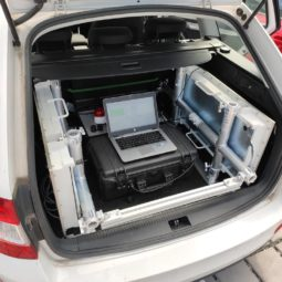 Mobile Environmental Monitoring System for Radiation Safety in Saudi Arabia