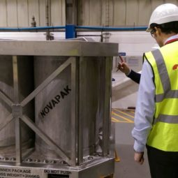 NOVAPAK Radioactive Material Transport Package Fleet Now Fully in Service in the UK